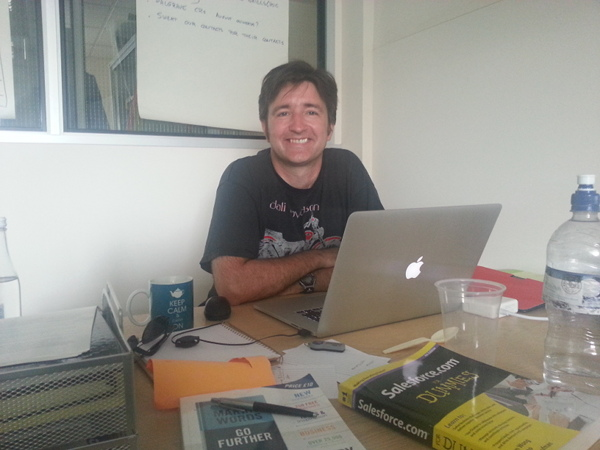Here is a picture of me working on some cool projects with RibbonFish.
